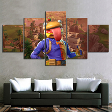 5 Piece GAMING Enforcer Poster on Canvas for Home Decor F5V7