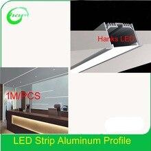 Хэнкс 6532 канал для светодиодной полосы профиль для встраиваемые потолочные внутренняя Ширина 39 мм 10 м/лот
