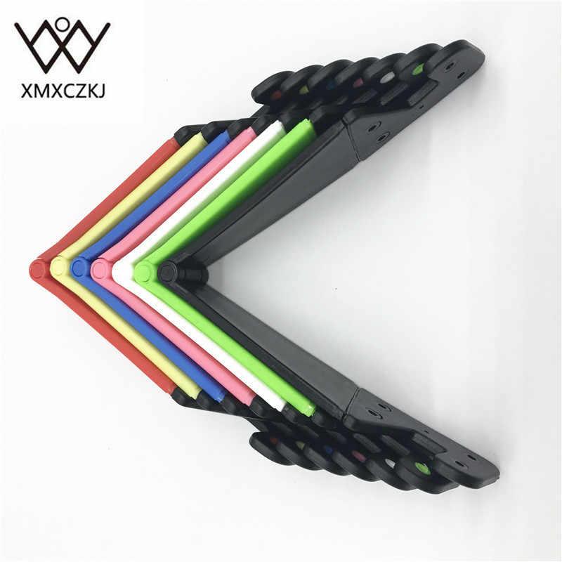 XMXCZKJ 1 шт. универсальная настольная подставка цветная Портативная Складная V модель держатель для мобильного телефона Подставка для сотового телефона