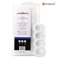 LumiParty PEVA Waterproof Water Repellent Shower Curtain Liner Mold Mildew Resistant Antibacterial With Plastic Hooks 20