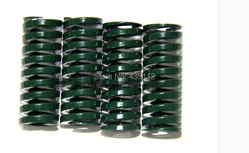 цена free shipping 10Pcs/lot 20mm x 10mm x 30mm type TH20-30 Spiral Metal Stamping Compression Die Spring