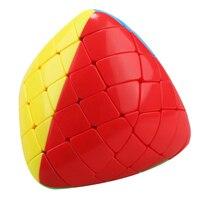 Shengshou Mastermorphix Stickerless 5x5 Magic Cube Puzzle Multicolor