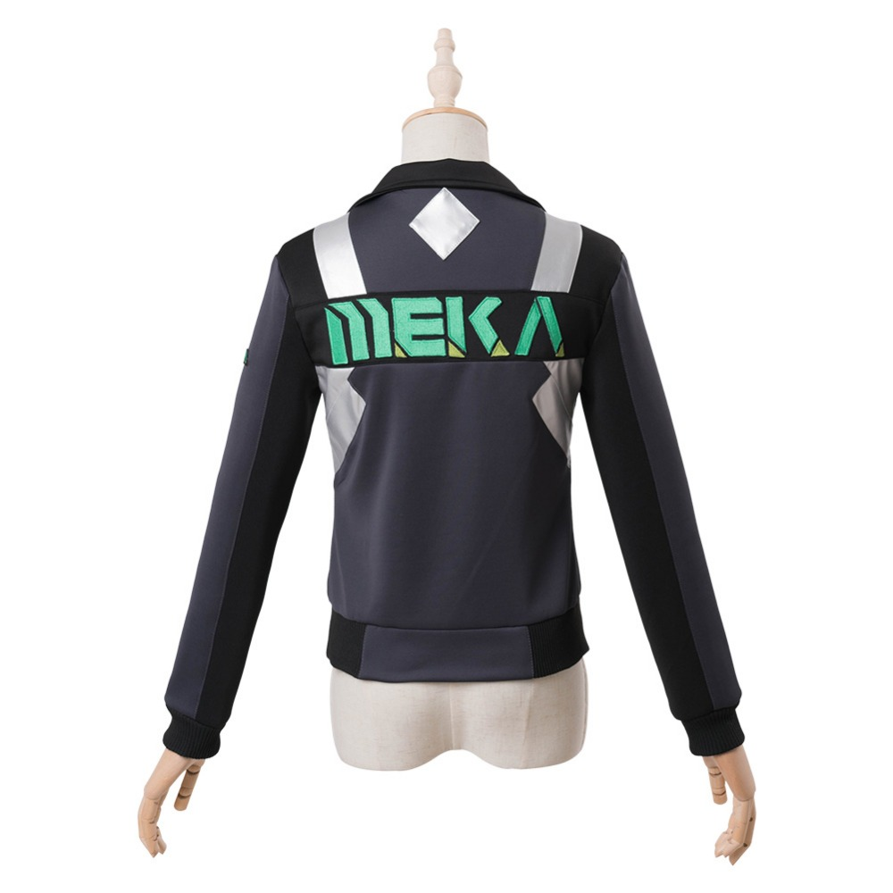 OW Cosplay D.Va DVA Hana Song Cosplay Costume Shooting Star Jacket Sweatshirt Halloween Cosplay Costume Custom Made - 4