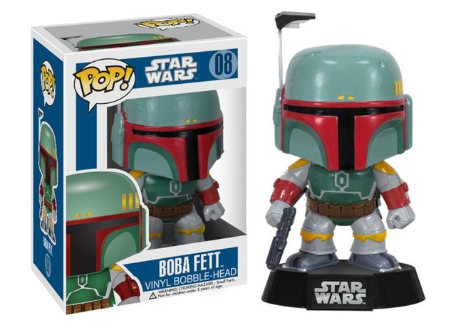 Funko Pop! Star Wars Action Figure – Boba Fett