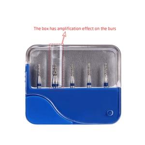 Image 5 - 200pcs/40 קופסות השיניים היהלומים Burs תרגיל שיניים Burs קוטר burs במהירות גבוהה Handpiece בינוני FG 1.6M רופא שיניים