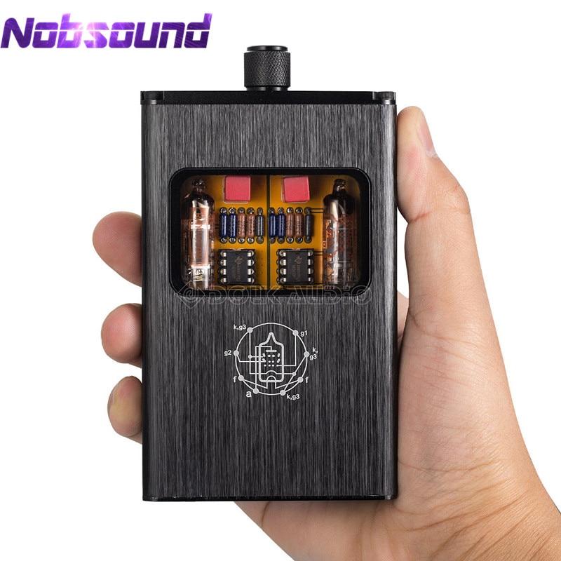 Nobsound Little Bear B4 X Portable Dual Mono Vacuum Tube Headphone Amplifier Balanced BLK