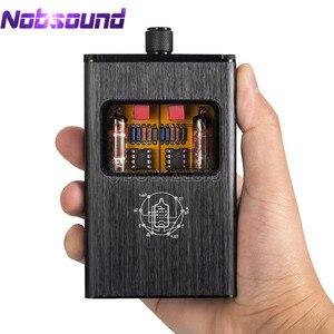 Image 1 - Nobsound mały miś B4 X przenośny dwu mono rura próżniowa wzmacniacz słuchawkowy zbalansowany BLK