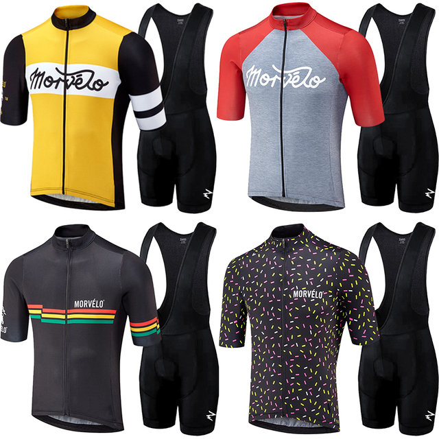 2018 runchita pro equipo Kit de camisetas de ciclismo hombres bicicleta ciclismo ropa maillot Ciclismo MTB fietskleding wielrennen zomer hombre conjunto