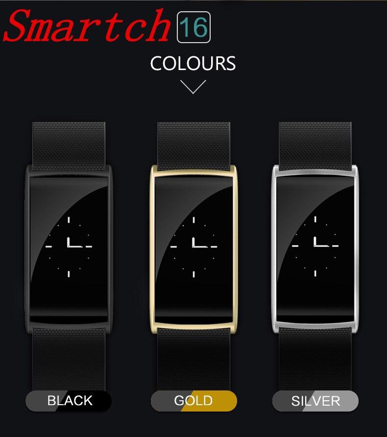 Smartch Original N108 Smart Wristband 0 96 inch Heart Rate Monito BT 4 0 IP67 Waterproof