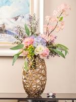 Modern Simple American-style Creative Transparent Glass Vase, Dried Flower Arrangement Tv Cabinet, Light And Luxurious Arrangeme