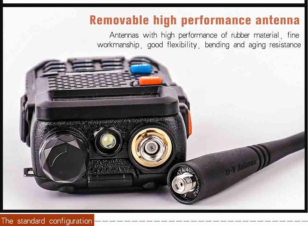 2Pcs BaoFeng UV-5R Walkie Talkie VHFUHF136-174Mhz&400-520Mhz Dual Band Two way radio Baofeng uv 5r Portable Walkie talkie uv5r (17)