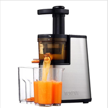220V Slow Speed Juicer Stainless Steel Juicer Fruit Vegetable Citrus Low Speed Juice Extractor Free Shipping For Christmas Gift