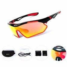 2018 Polarized Cycling Glasses Unisex UV400 Outdoor Sport Sunglasses Motorcycle Bicycle Riding Fietsbr Windproof Fishing Eyewear