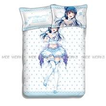 LoveLive!Sunshine!! Yoshiko Tsushima anime bed sheets bedspread