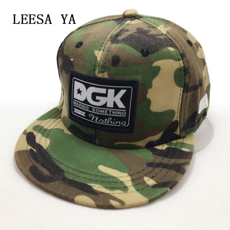 Brand Camo snapback caps baseball cap dgk hat gorras planas Flat Hip Hop gorra for men women casquette hats chapeu touca homme  цены