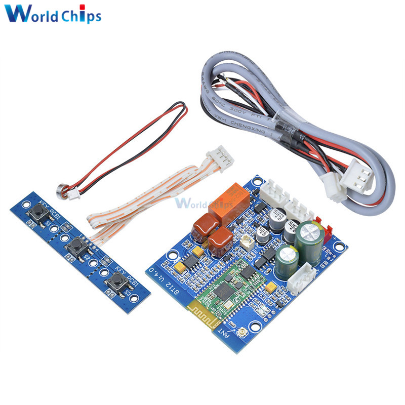 DC 5V Isolated APT-X Lossless Music Hifi Bluetooth 4.1 Receiver Board Amplifier