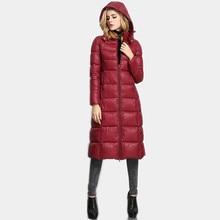 2016 Осенью и Зимой женщин хлопка куртка Тонкий Средней длины Сплошной цвет С Капюшоном Плюс размер женская куртка