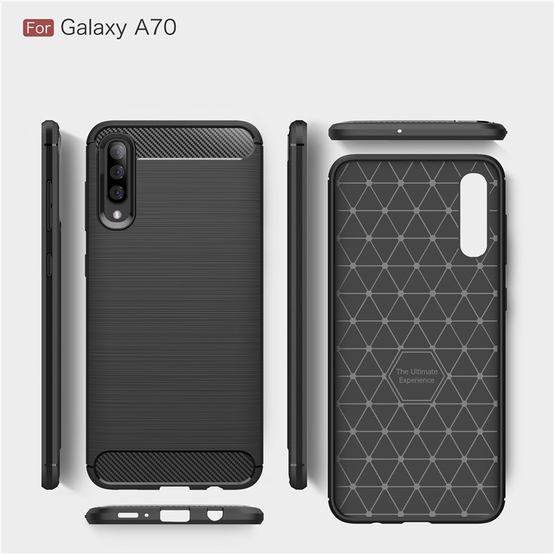 For Samsung Galaxy A70 Case For Samsung A70 Soft Silicone Anti knock Case For Samsung Galaxy A70 Cases For Samsung A70 Covers in Fitted Cases from Cellphones Telecommunications