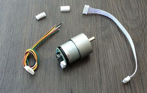 Image 3 - Elecrow DIY Smart Car For Arduino Robot Education Smart Car Encoder Chassis Front wheel  Steering Gear Steering Dual Motor Drive
