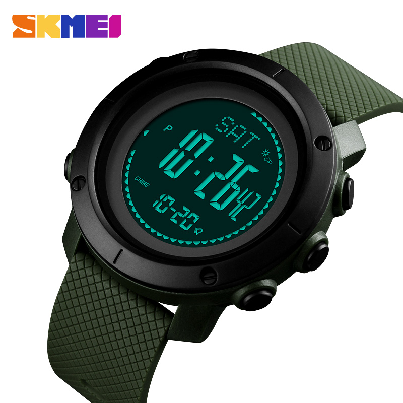 Watches Mens Watches Pedometer Calorie Digital Sport Watch Men Compass Thermometer Wrist Watch Outdoor Relojes Para Hombre Skmei 2018 Digital Watches
