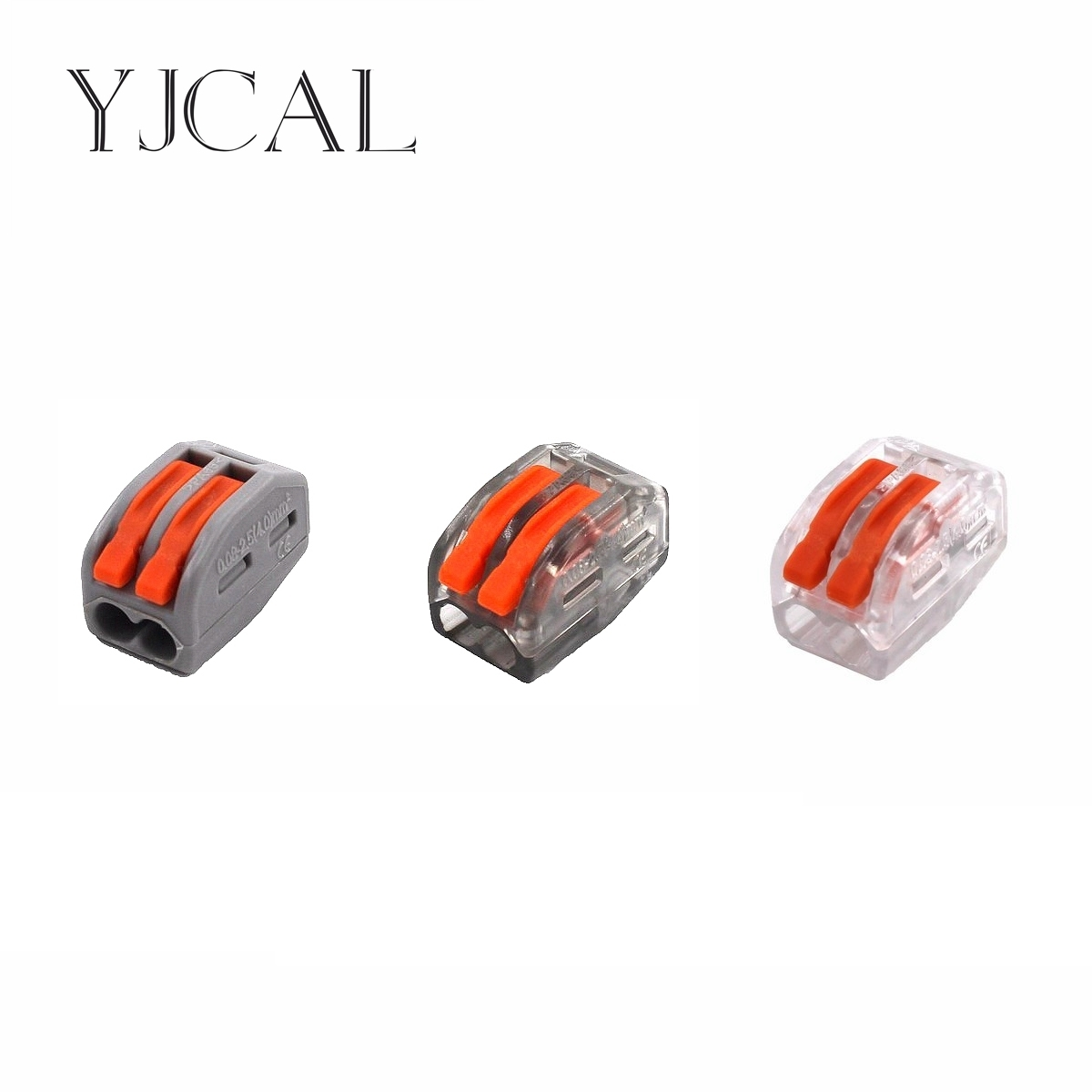 цена на Wago Type 222-412 100PCS Universal Compact Wiring Conector Terminal Block Connectors Terminator Wire Connector AWG 28-12