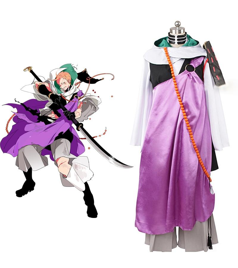 Touken Ranbu Iwatooshi Cosplay Costume Tailor Made