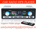 2015 new Car Radio Player MP3 FM/USB/1 Din/USB 12V Car Audio Auto Stereo Support Multi format Aux-in EQ effect Free shipping!!