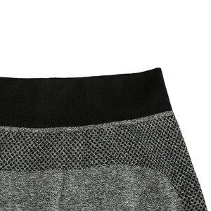 Image 4 - SVOKOR mallas deportivas de secado rápido para mujer, Leggings S XL a rayas, profesionales, de secado rápido