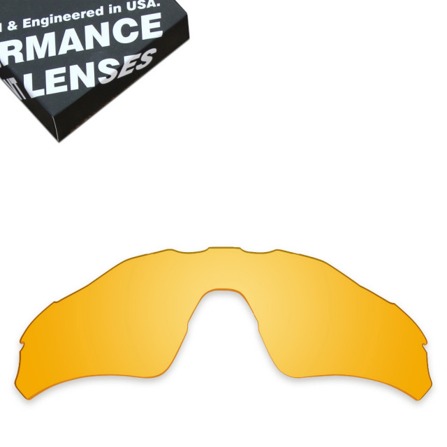 fc567ff4f2 ToughAsNails Replacement Lenses for Oakley Radar EV Path Sunglasses Clear  Yellow (Lens Only)
