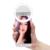 Com clipes selfie portátil led ring flash luz de preenchimento câmera fotografia para iphone 6 6 s além de 7 samsung xiaomi móvel telefone
