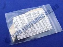 Una Porción Envío libre 0201 SMD Capacitor Kit Surtido 40 valor total 2000 unids condensadores de chip paquete