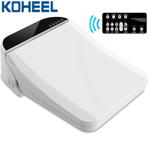 Image 1 - KOHEEL smart toilet seat cover toilet bowls for toilets seat heating clean electronic bidet cover dry smart toilet lid