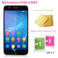 "5pcs/lot Super Clear Screen Protector Film for Lenovo A328 A328T /4.5"" Premium Transparent Screen Guard Cover Protective"