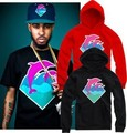 2017 Brand Hip Hop Men And Women Pink Dolphin Hoodies Hedging Thick Cotton Hoody Pink Dolphin Men Sweatshirts Mens Pullover Tops