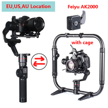 Feiyu AK2000 3-Axis Handled Gimbal Stabilizer for Sony Canon 5D Panasonic GH5 GH5S Nikon Mirrorless and DSLR Digital Camera