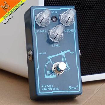 Belcat Vintage Compressor Guitar Effects Pedal Balance Dynamic output Level Analog Circuit True Bypass Free Shipping