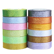 (25 yards/lot) (20/25/40mm) colorful ribbon Christmas packaging high-grade quality squares ribbons