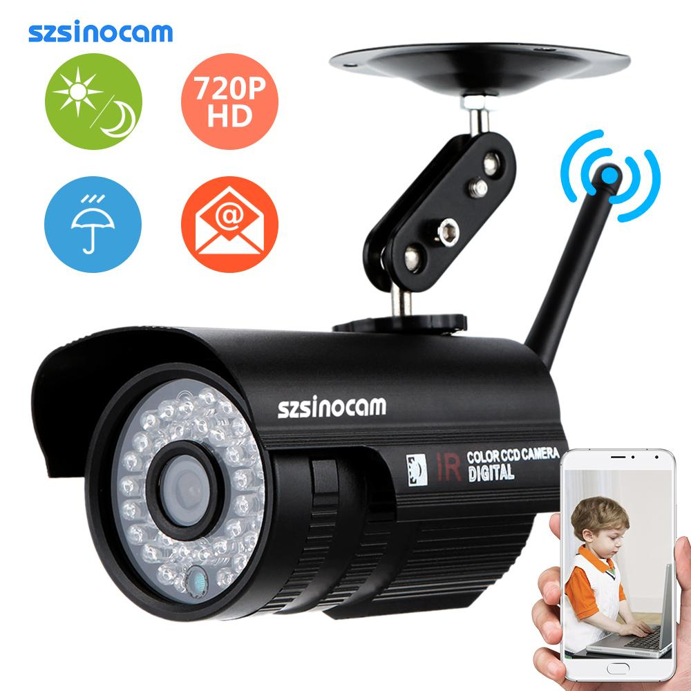 szsinocam wireless wifi ip camera hd 720p waterproof. Black Bedroom Furniture Sets. Home Design Ideas