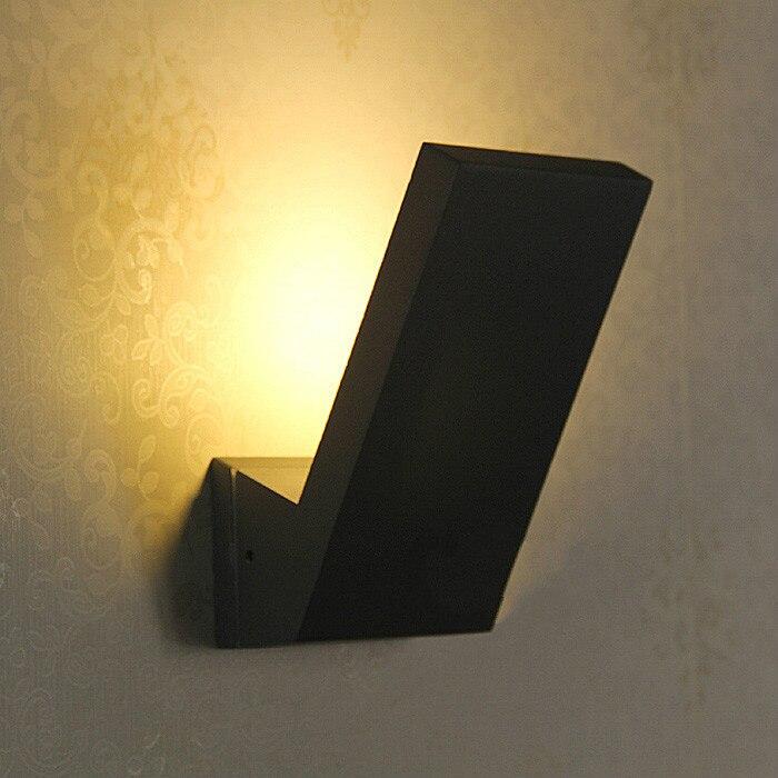 Ворота виллы 1 шт. светодио дный наружного освещения Настенные светильники IP65 водонепроницаемый крыльцо бра бар балкон Cafe сад лампы Коридор