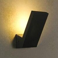 Ворота виллы 1 шт. led наружнее освещение настенное крепление IP65 водонепроницаемый светильник Настенный светильник бар балкон кафе сад лампа