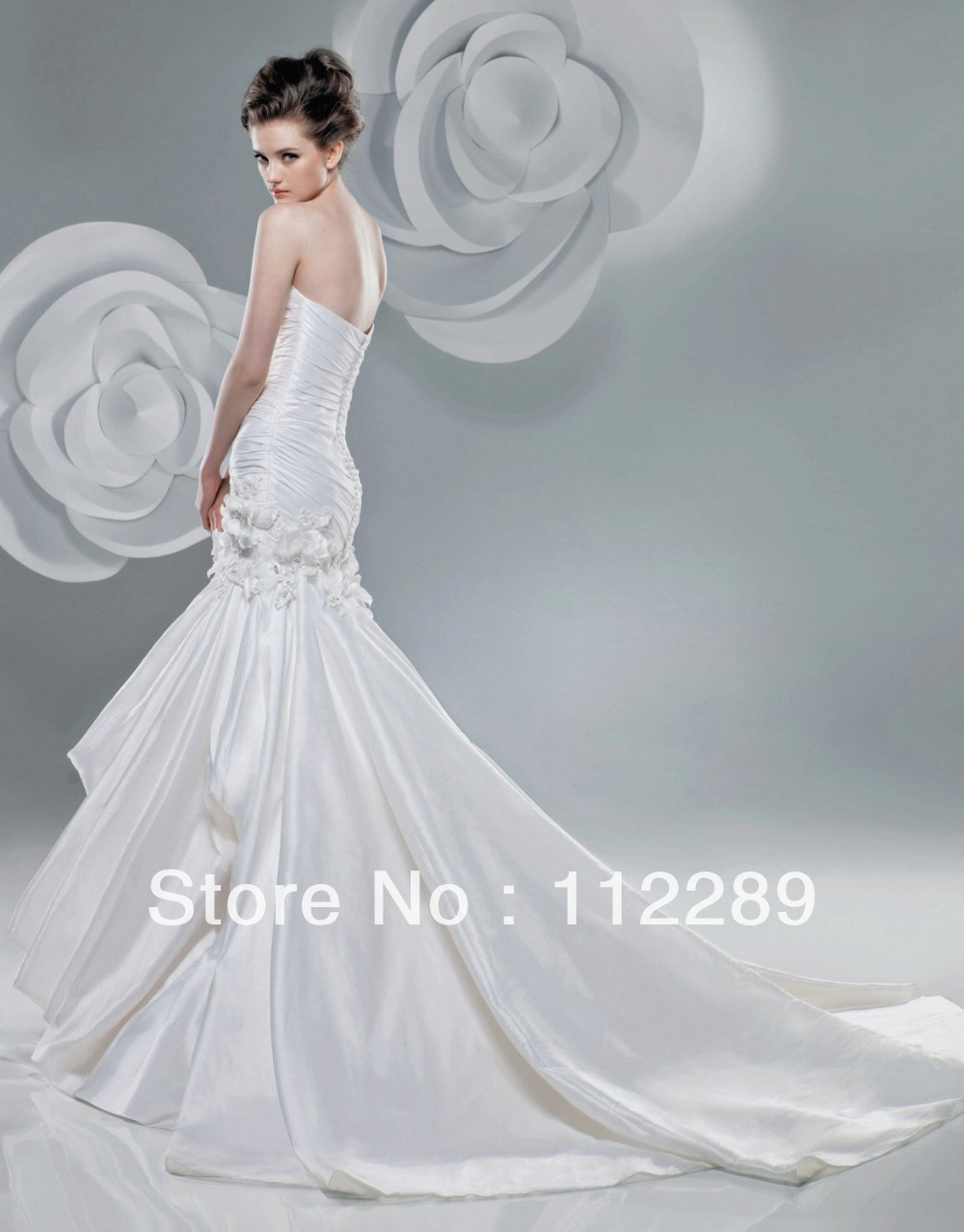 Magnificent Japanese Party Dress Festooning - Wedding Dress - googeb.com