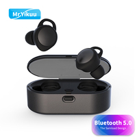 Bluetooth 5.0 Stereo Earphones mini T02 Wireless Headset Sports Music Earbuds Headphone Outdoor For iPhone 6 7 8 X Xiaomi Huawei