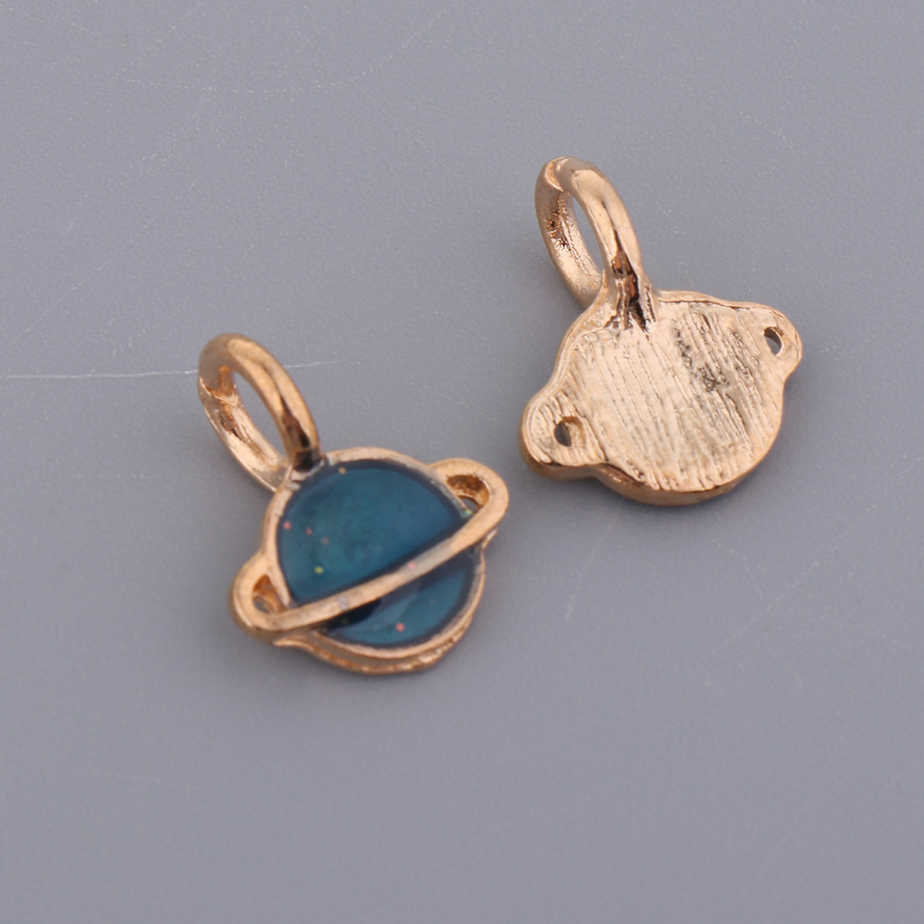 10 Pieces Satellite Pendants Jewelry Making Charms DIY Necklace Decoration women pendulum Handmade Necklace Bracelet pendants in Pendants from Jewelry Accessories
