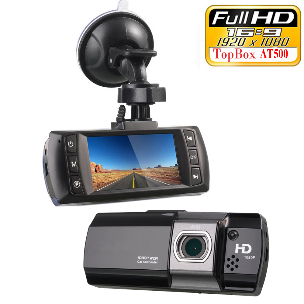 Original Novatek 96650 Car DVR Camera Topbox AT500 Full HD 1080P Video Registrator Recorder HDR G