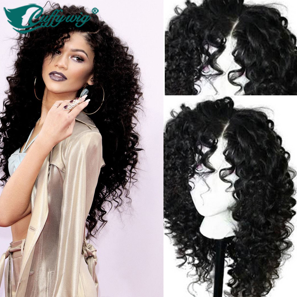 Top Quality Deep Curly Full Lace Wigs On
