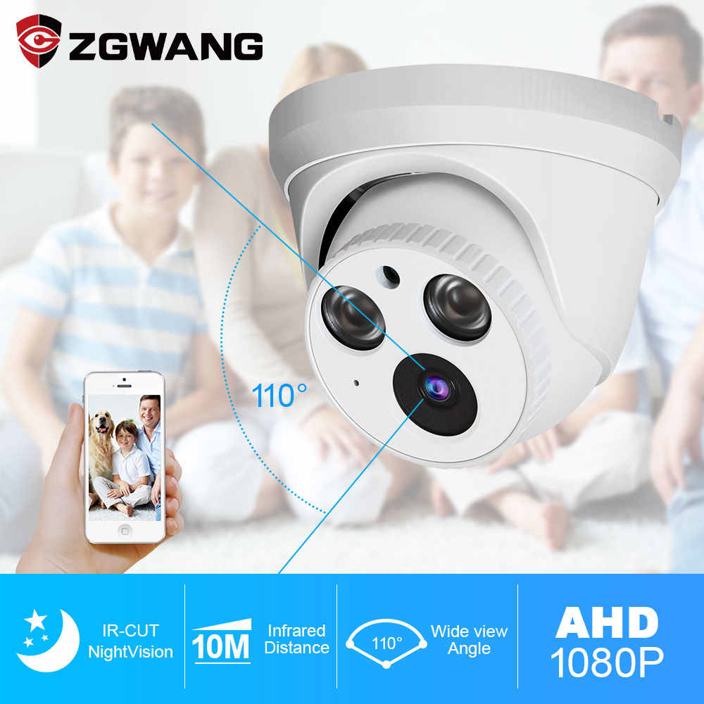 ZGWANG 1080P AHD Camera CCTV Analoge Camera Surveillance CCTV AHD Camera HD Indoor PAL NTSC H.264 Nachtzicht IR cut Camera