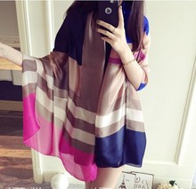 Size 180*70cm 2017 New Scarves Beach Towel Scarf Female Spring Shawls and Scarves Women Scarf Skyour Ksyoocur 9-57(China)