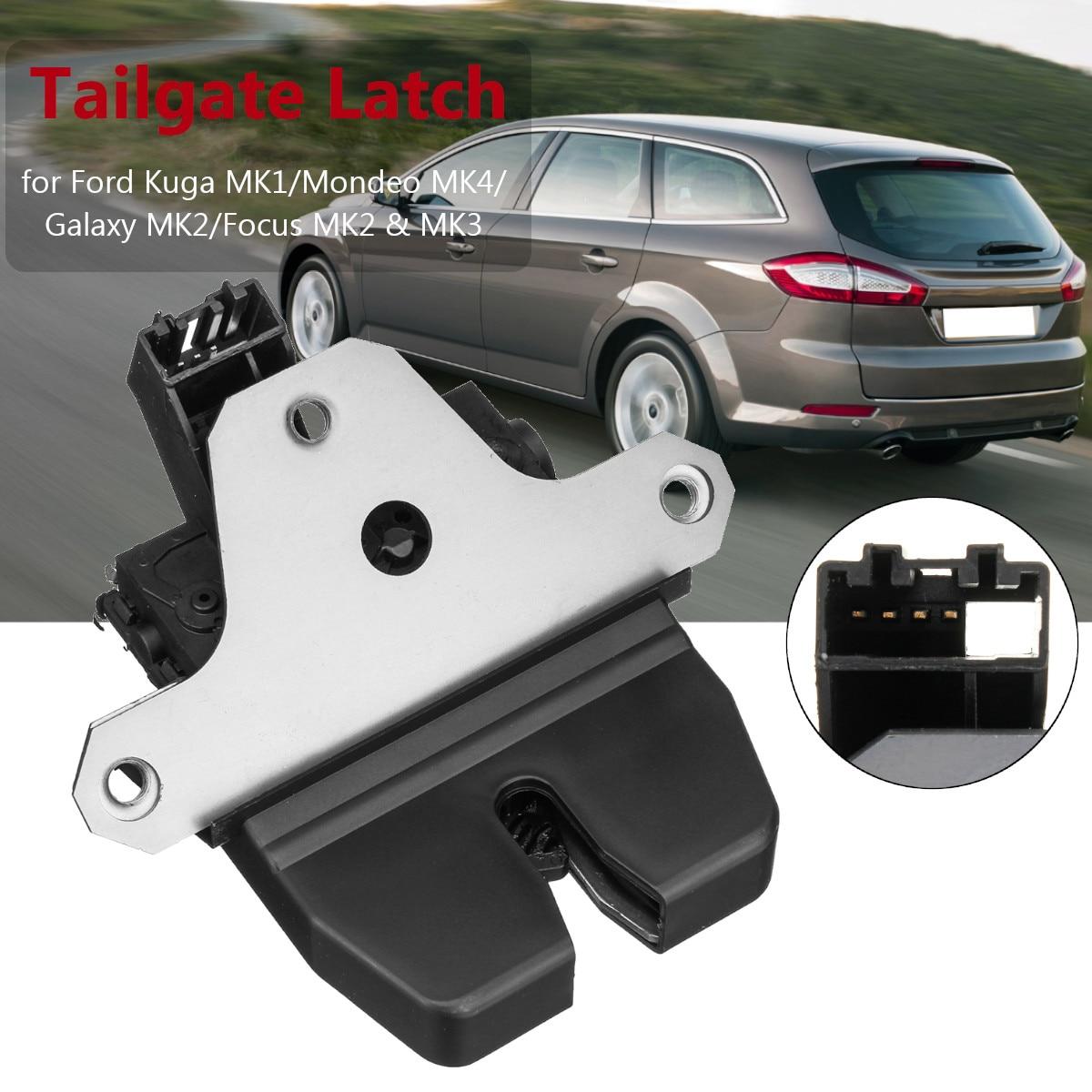 4Pin Tailgate Trunk Lock Latch For Ford Kuga MK1/Mondeo MK4/Galaxy MK2/Focus MK2 & MK3 1920840 1856670 8M51 R442A66DC4Pin Tailgate Trunk Lock Latch For Ford Kuga MK1/Mondeo MK4/Galaxy MK2/Focus MK2 & MK3 1920840 1856670 8M51 R442A66DC