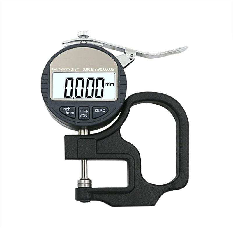 0,001 mm elektroninis storio matuoklis 10 mm skaitmeninis mikrometro - Matavimo prietaisai - Nuotrauka 6