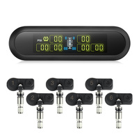 Wireless Solar Power Universal Tire Pressure Monitoring System T86 Automatic Backlight USB Charging Solar Panel TPMS